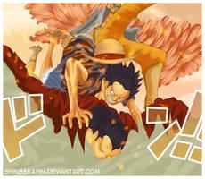 One Piece 745 - Heeeeeey Bitch ~~!! by Shinsekai94