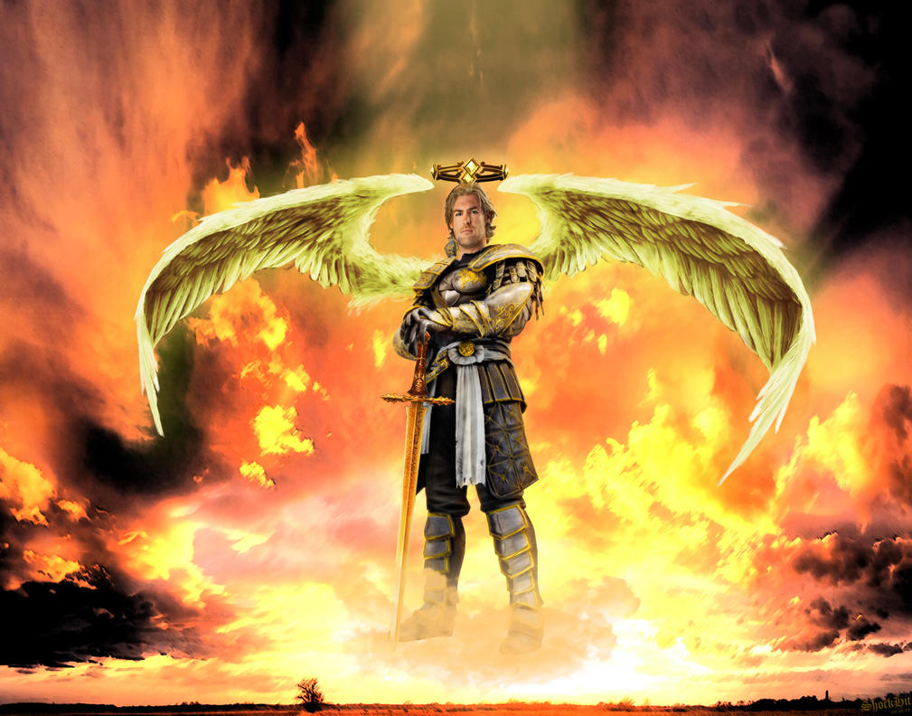 Michael ミカエル Mikaeru is a demon in the series Michael is an archangel one of the principal 50 angels in Christian lore and of the four archangels of