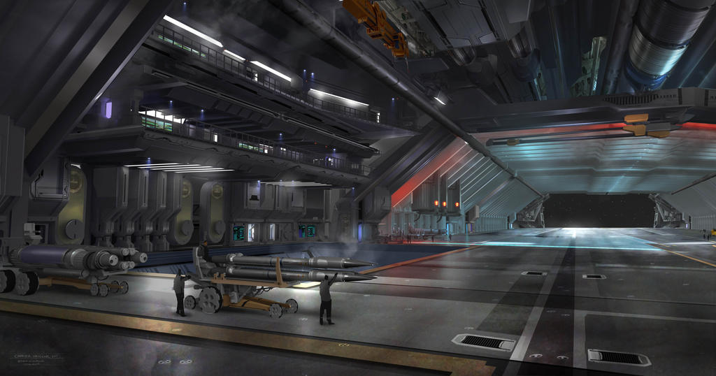 Hangar Bay by darksavage22