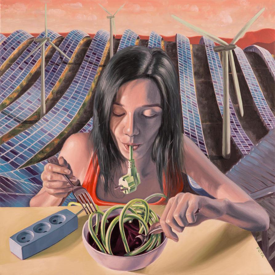 Green Appetite by VictorFota