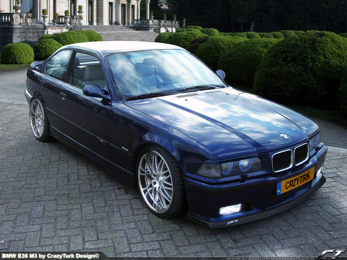 BMW E36 M3 by CrazyTurk on DeviantArt
