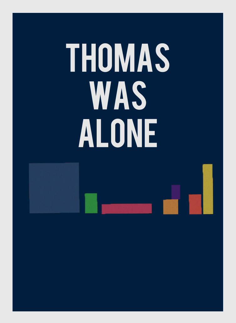 Thomas Was Alone Poster by JoeyEd