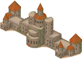 Meleth Academy - castle by lunar-eclipse