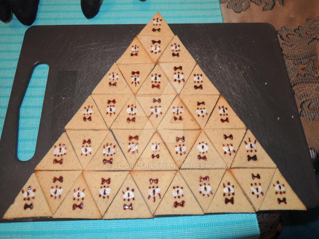 Bill Cipher - Cookies by 2D-Dipper