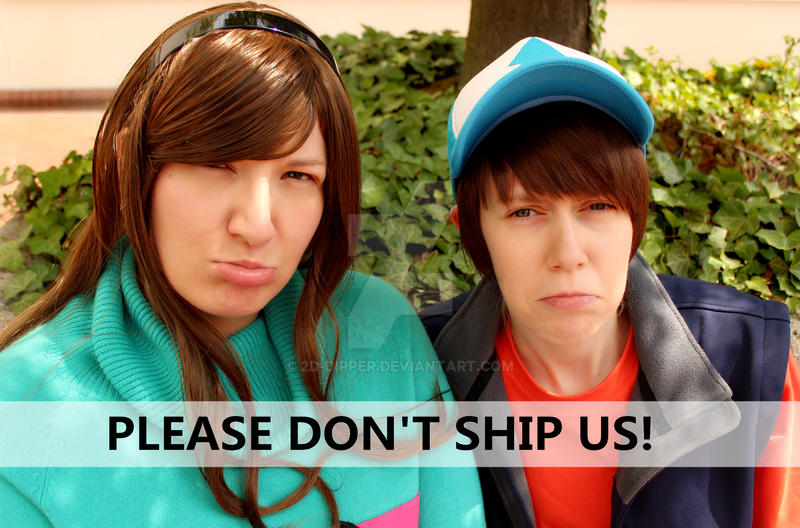 Please don't ship us! by 2D-Dipper