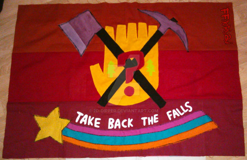 Take back the Falls [WIP] by 2D-Dipper