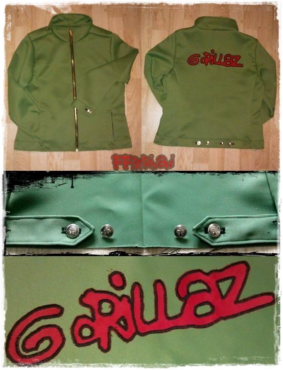 Gorillaz - Jacket (2D-PBI) by 2D-Dipper