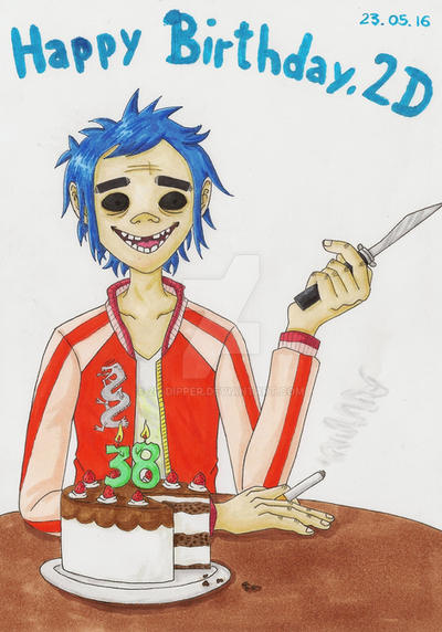 Happy Birthday, 2D by 2D-Dipper