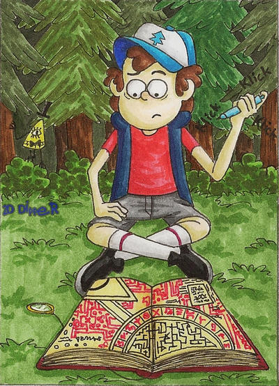 In the deep forest by 2D-Dipper