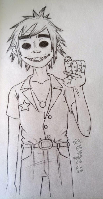 2D - Phase4 [Sketch] by 2D-Dipper