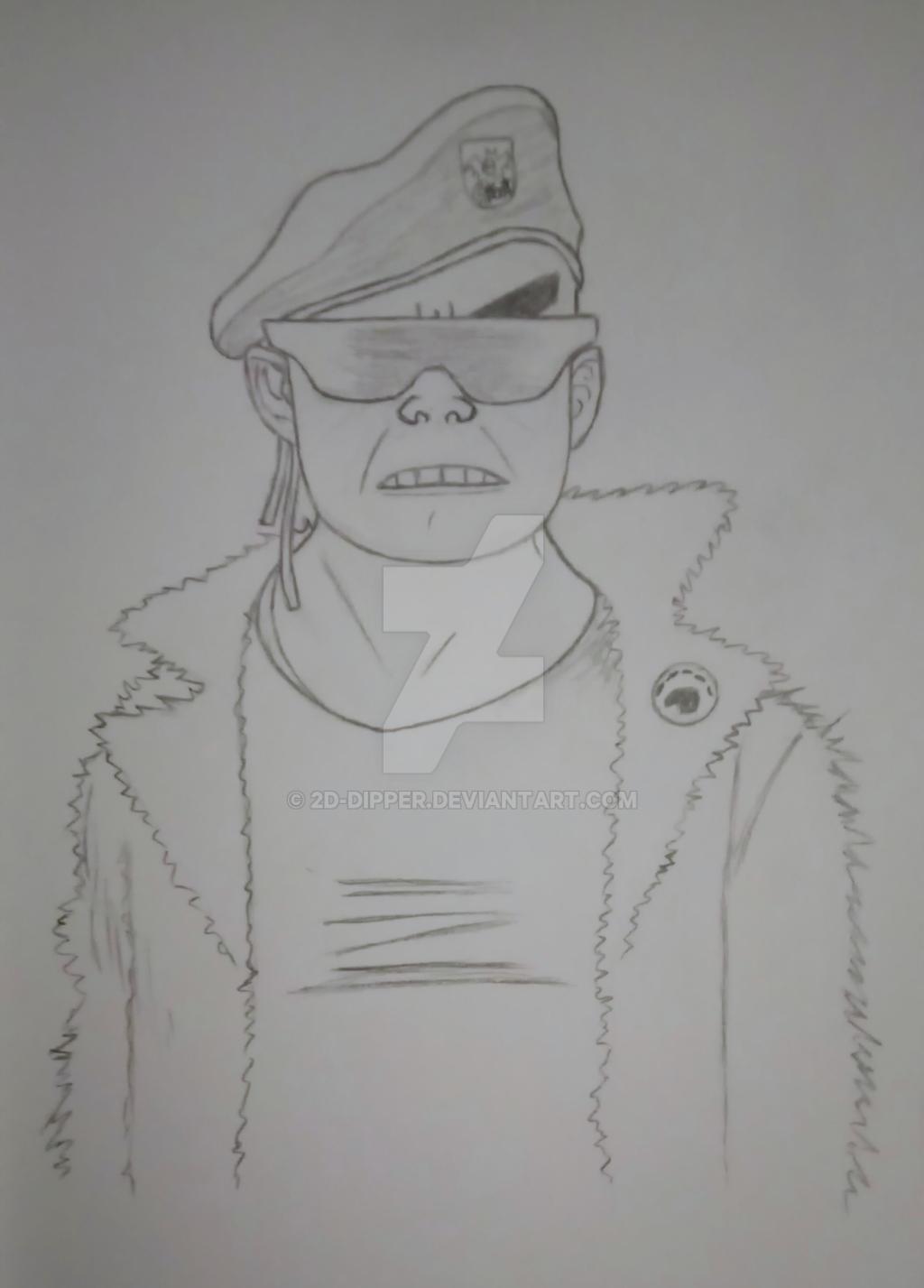 Russel hat [Sketch] by 2D-Dipper
