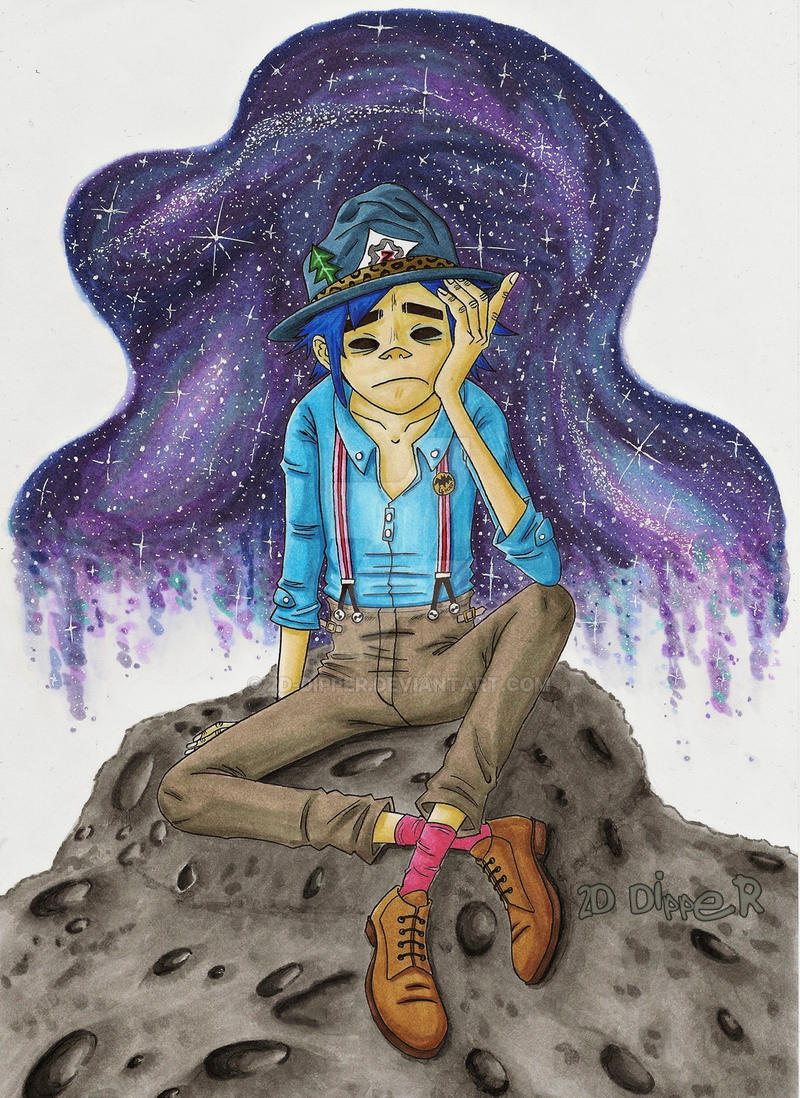 Out in the universe by 2D-Dipper