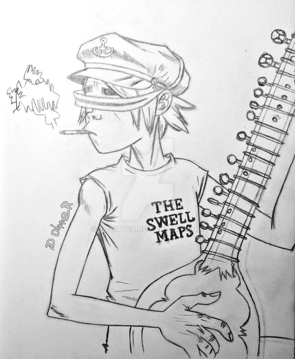 2D phase 3 [Sketch] by 2D-Dipper