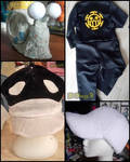 WIPs: cosplay and accessoires