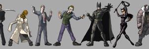 Batman and Villains - from the Nolanverse