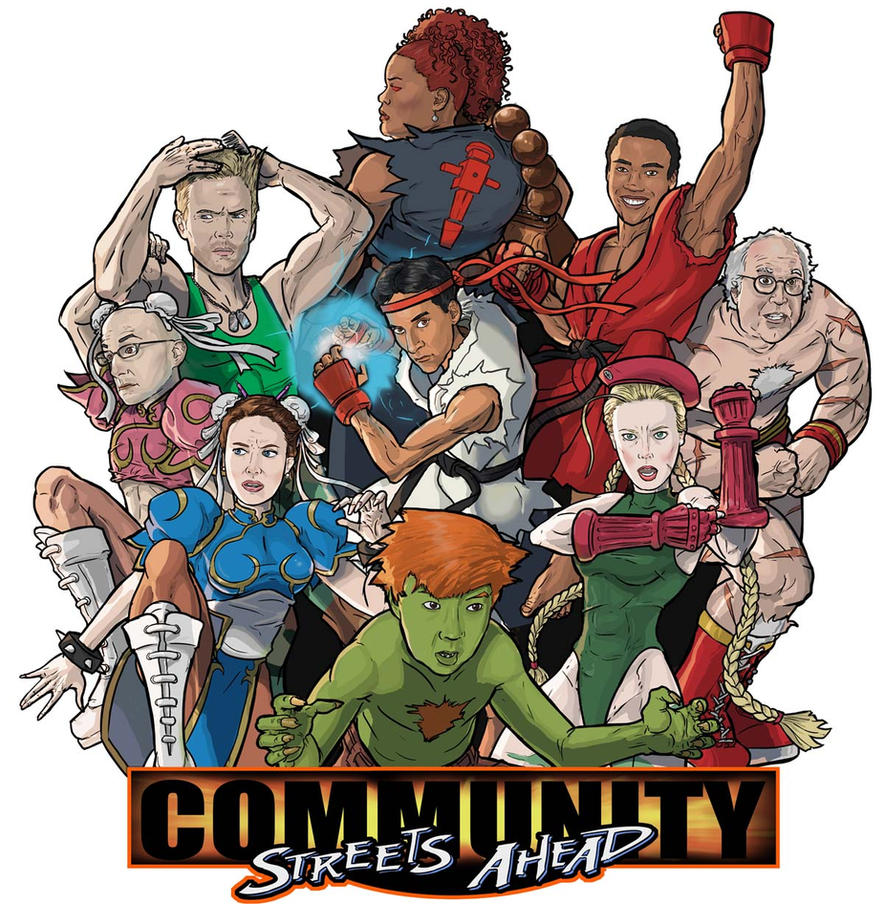 Community meets Street Fighter