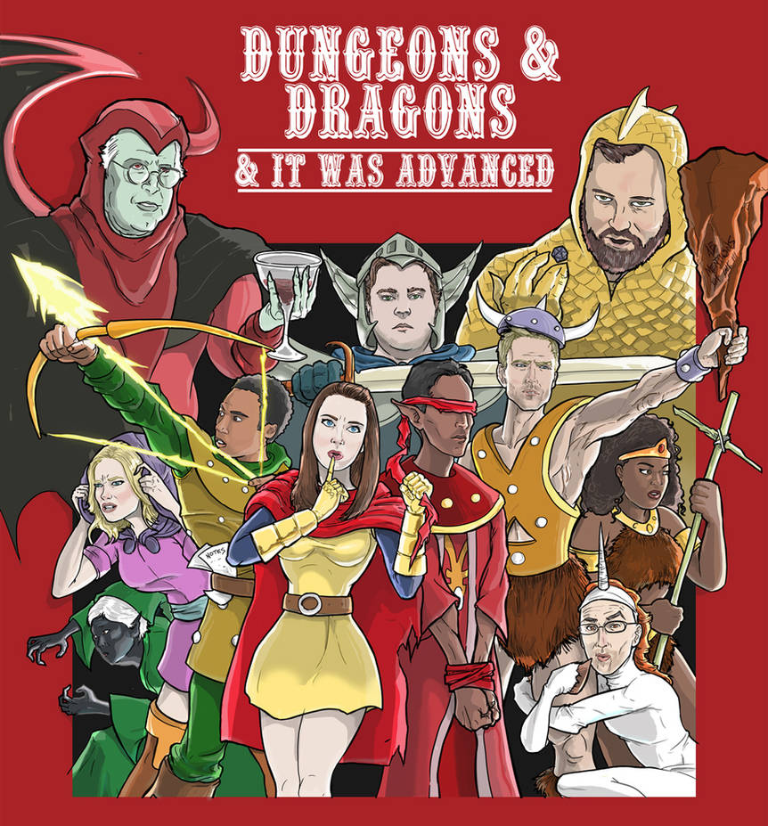 Dungeons and Dragons and It Was Advanced by kinjamin