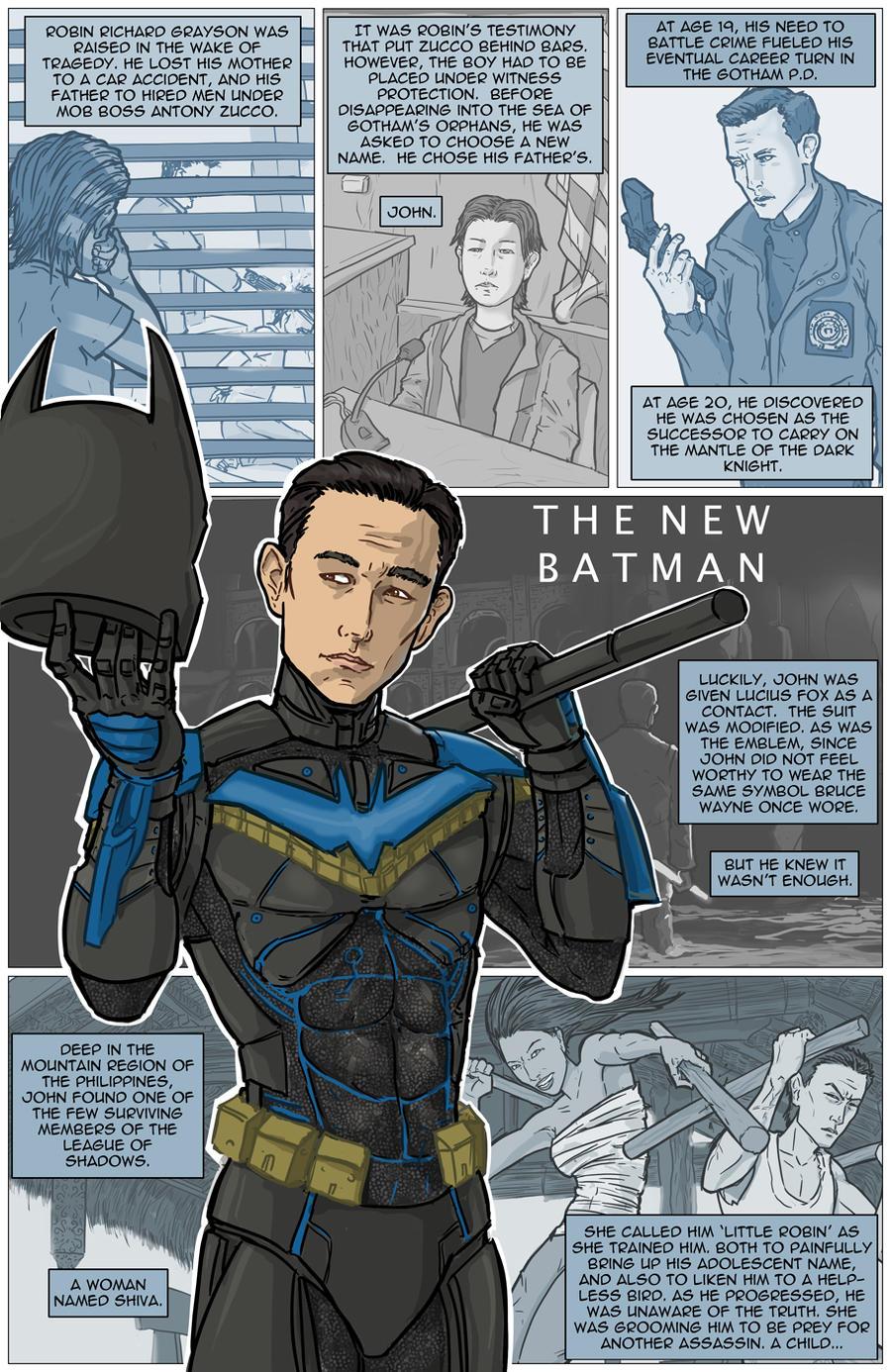 The Dark Knight Trilogy Epilogue: The New Batman by kinjamin