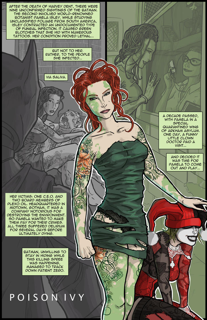 The Dark Knight Trilogy Epilogue: Poison Ivy by kinjamin