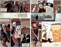 Superman vs. Batman by kinjamin