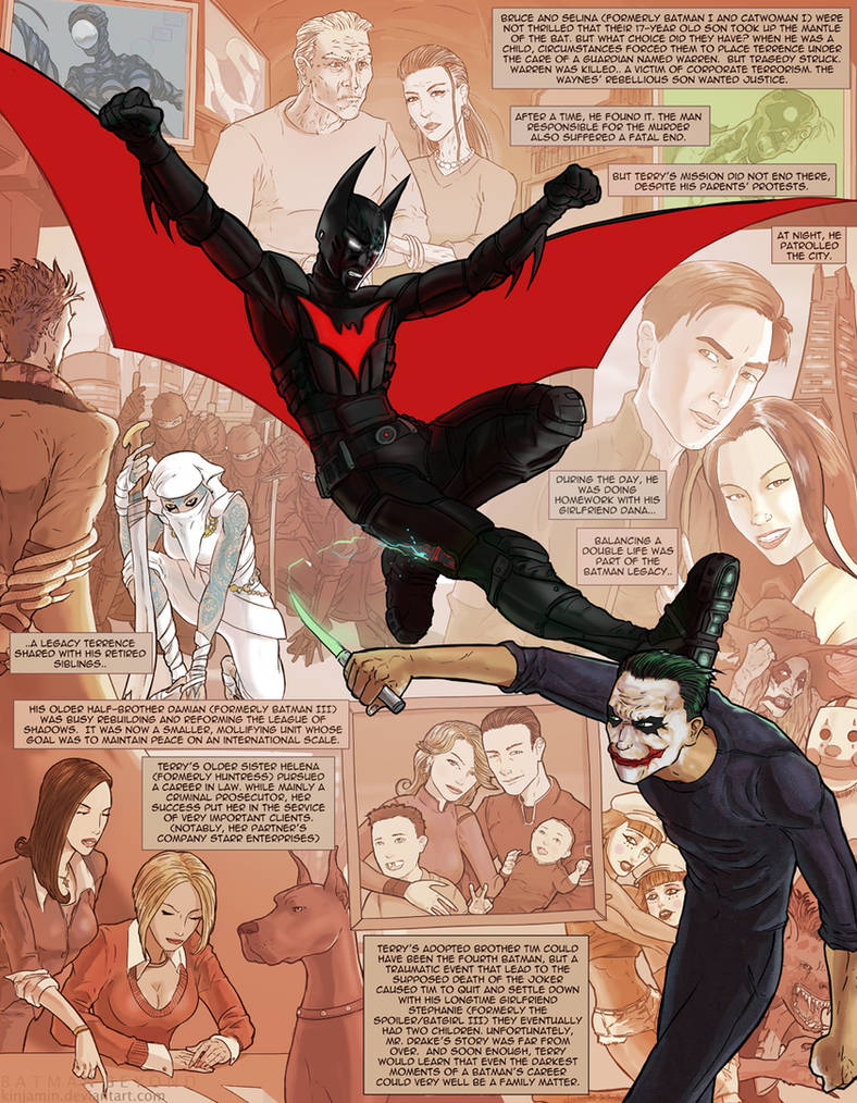The Dark Knight Trilogy Epilogue: Batman Beyond by kinjamin on