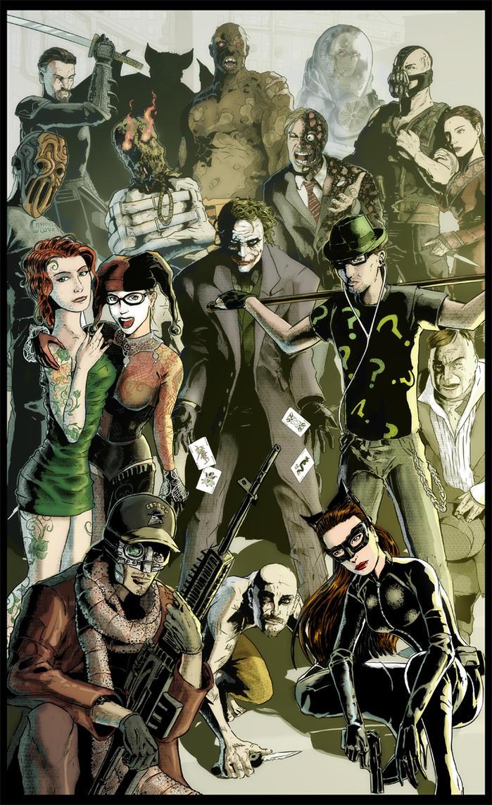 A Better Class Of Criminal (Nolanverse villains) by kinjamin