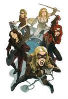 Black Canary Band by kinjamin