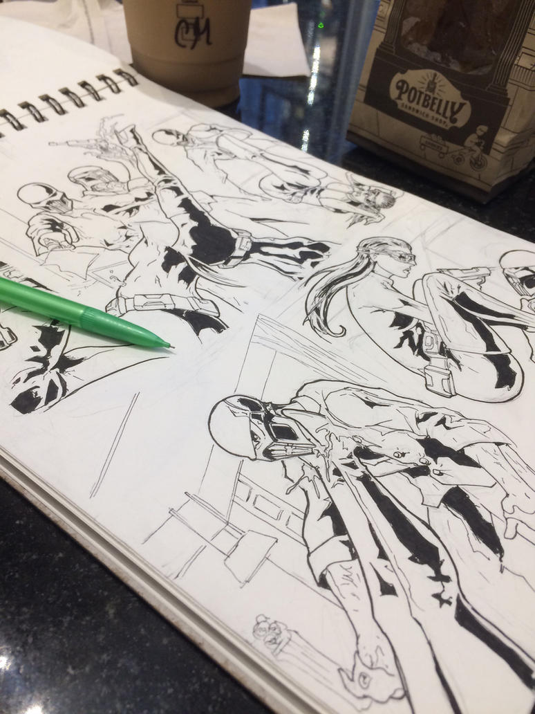I swear I'm still drawing by kinjamin