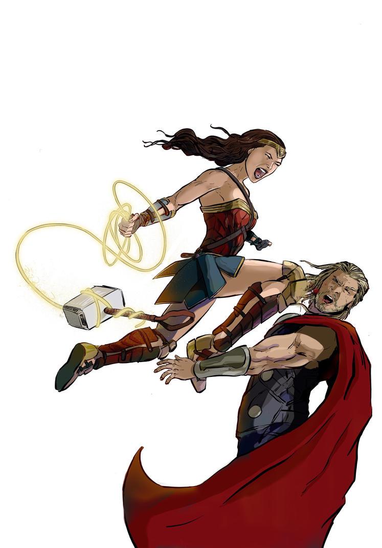 'I think she'd kick Thor's a**' by kinjamin