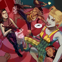 Harley`s Inappropriately Timed Selfie