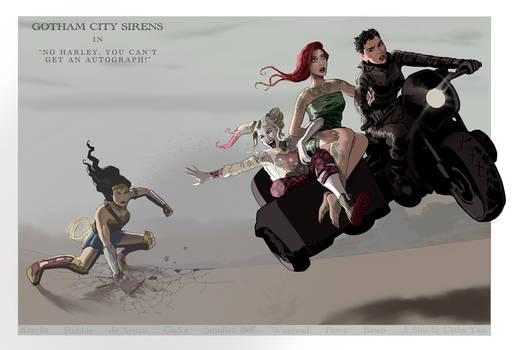 Gotham City Sirens in...