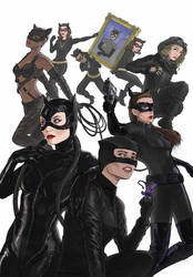 9 and a half Lives of Catwoman