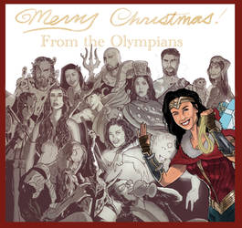 Wonder Woman: Merry Christmas from the Olympians