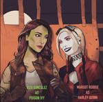 Harlivy - Eiza and Margot by kinjamin