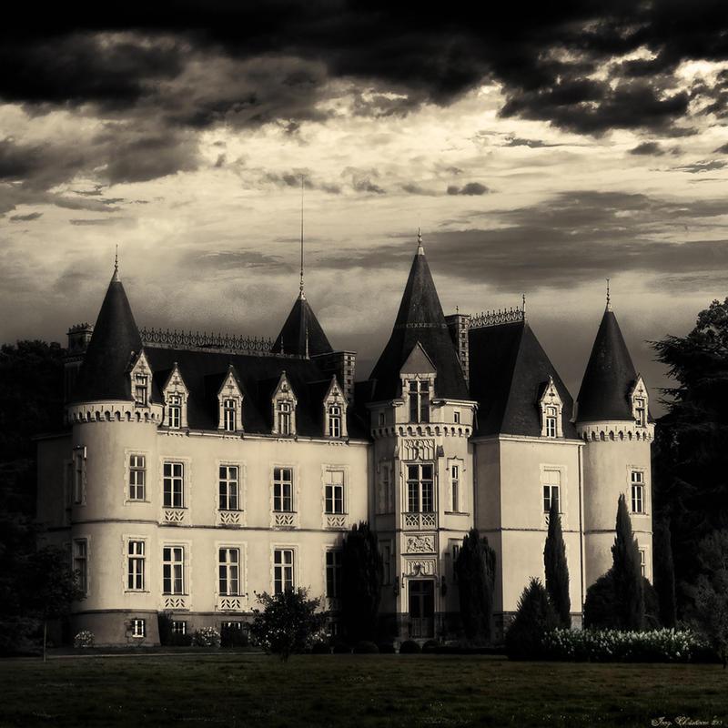 Une bannière pour une duchesse.  [A faire] Chateau_by_jacqchristiaan-d6nllyp