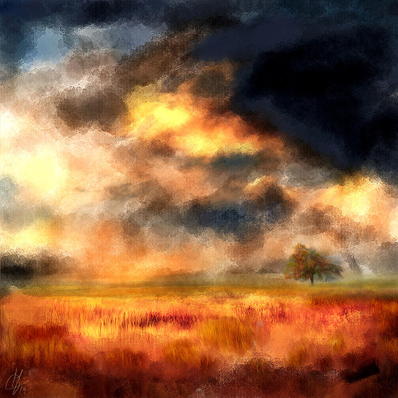 landscape painted by JacqChristiaan