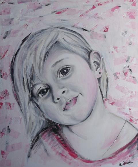 Dziewczynka W Rozu by anqk