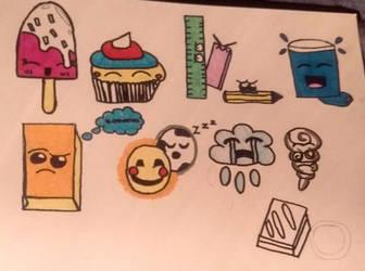 Cute Emojis by Sparkles247