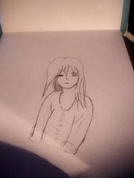 Practise Drawing of my Self Portrait by Sparkles247