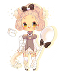 Fluffairy Adoptable Auction - Coffe Cat [closed]