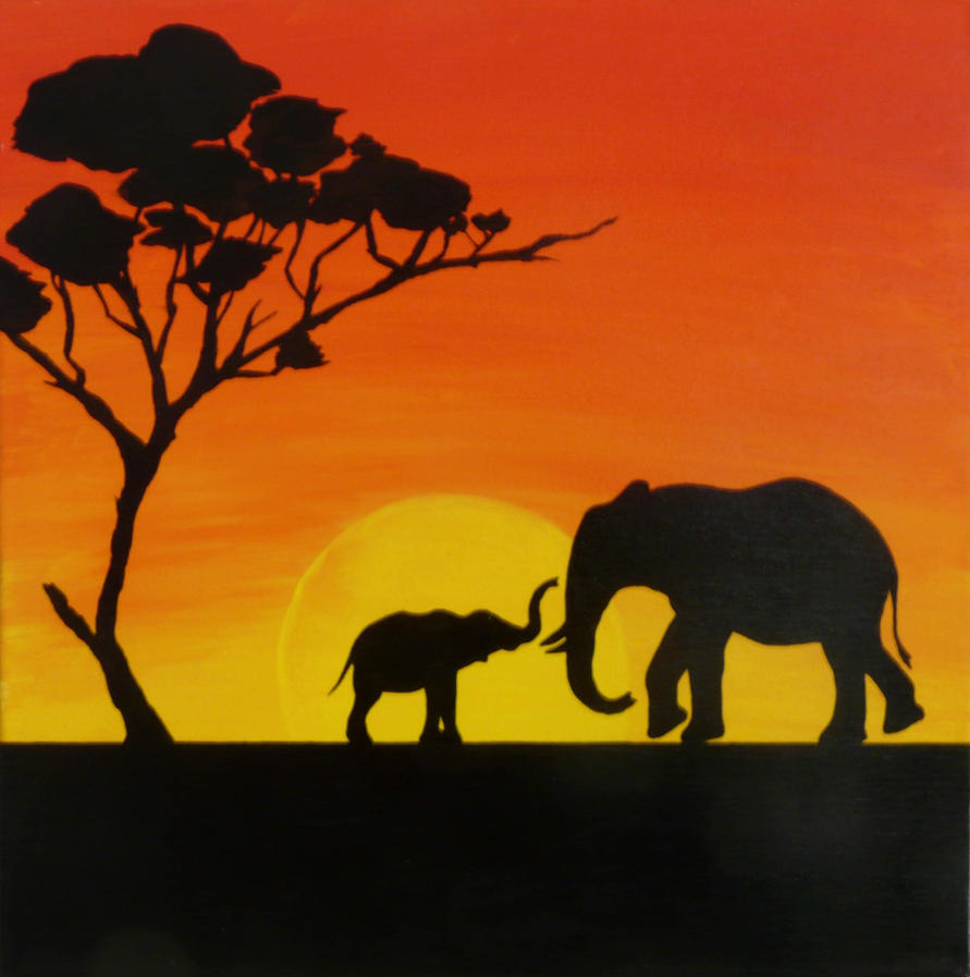 African Dusk by MartaEmi
