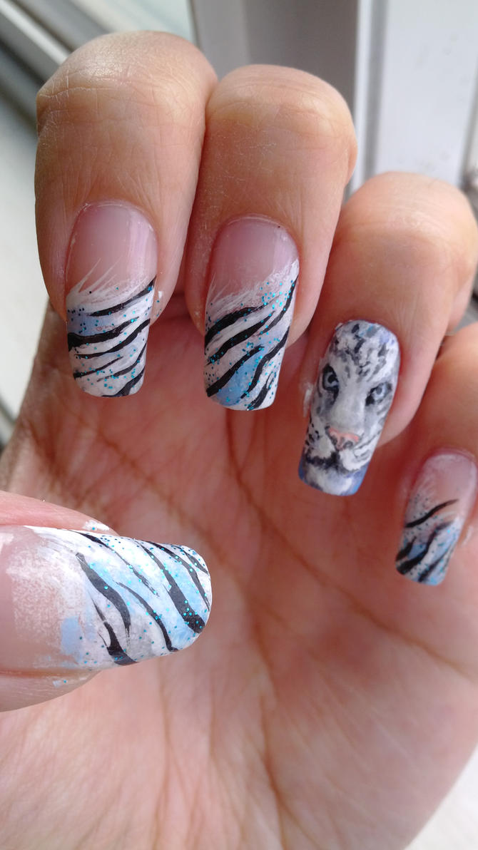 Tiger Nails Pictures - Famous Tiger 2017