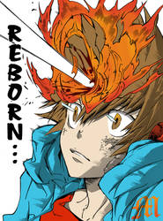 Tsuna's REBORN! by M by MarioTheArtistM