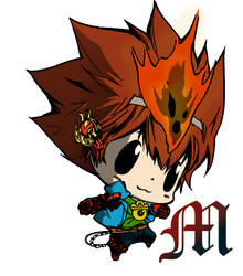 Reborn in Tsuna Suit by M by MarioTheArtistM