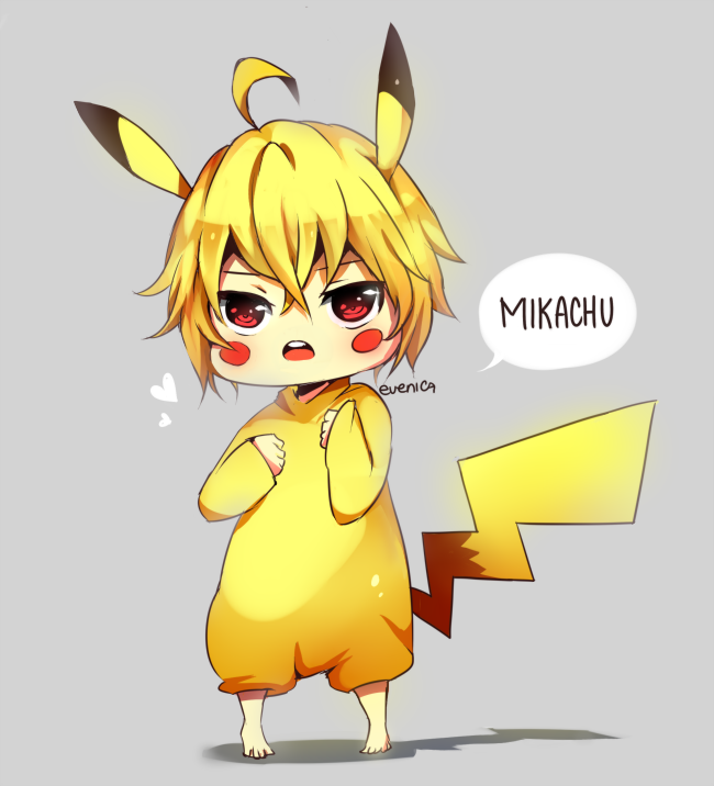 ONS Mikachu By Evenica On DeviantArt