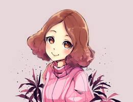 Persona 5: Haru by evenica