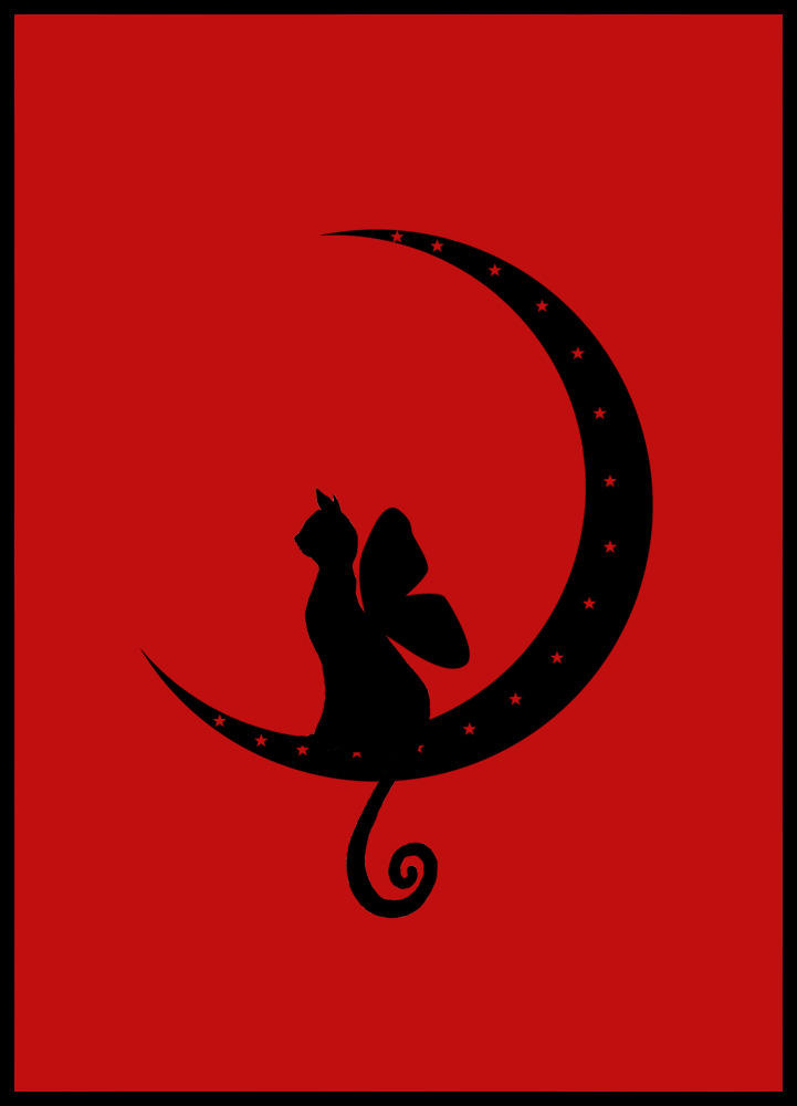 Love Cats Moon Faery Cat Moon by