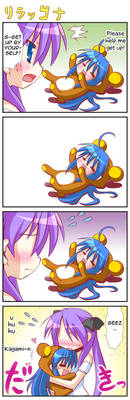 Konota and Kagami comic