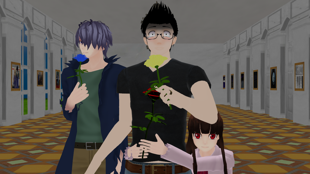 [mmd] Loyalty to Markiplier (AsianChiq23 version) by Neko-nekochan23