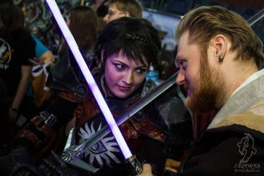 Cassandra Pentaghast vs Jedi by BioWareBY